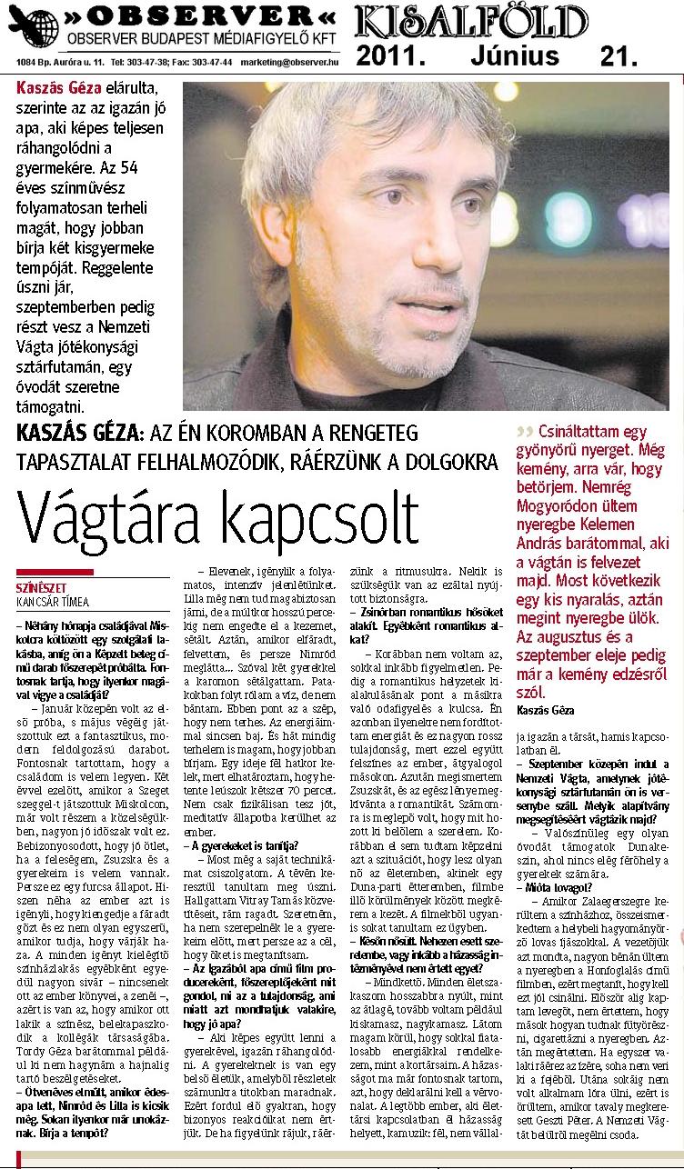 Kisalföld - 2011.06.21.