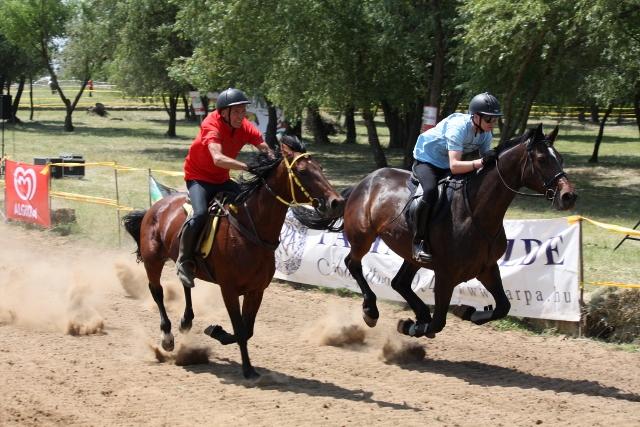 A nyírségi lovasok küzdelme következik