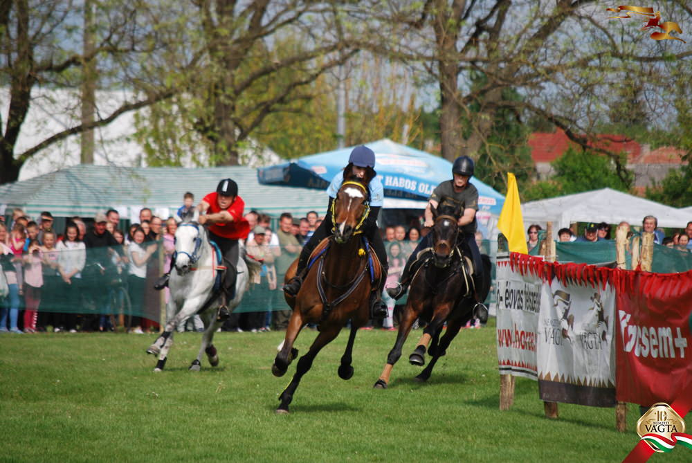Családias lóverseny és majálisozás Sarkadon