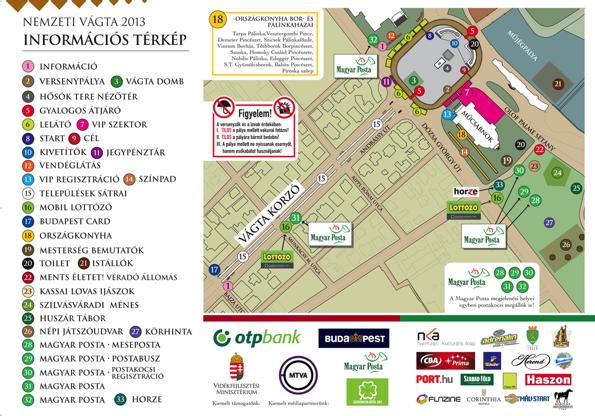 Információs térkép és forgalomkorlátozás